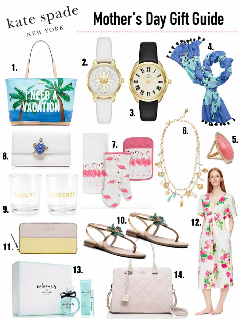 Kate Spade Mother's Day Gift Guide