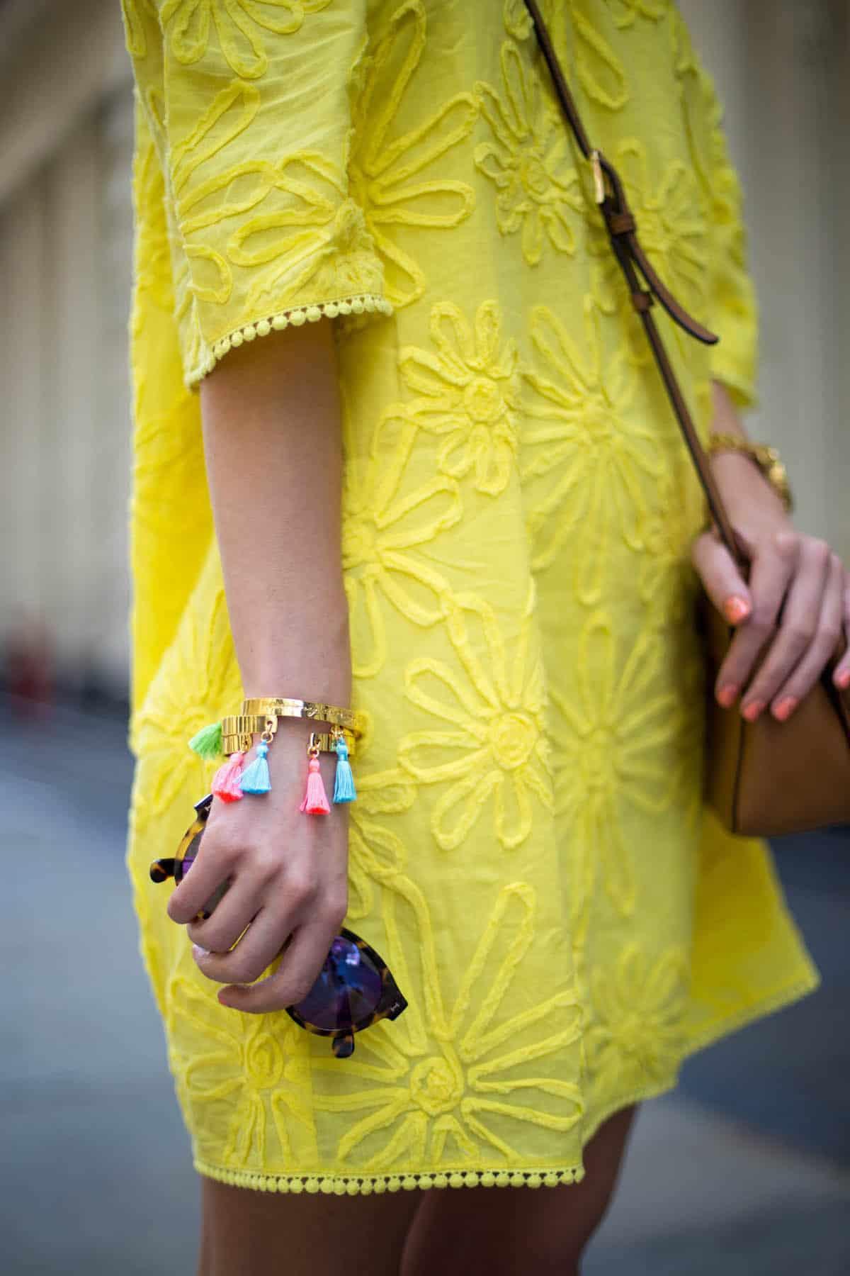 Lilly Pulitzer Tassel Bracelets