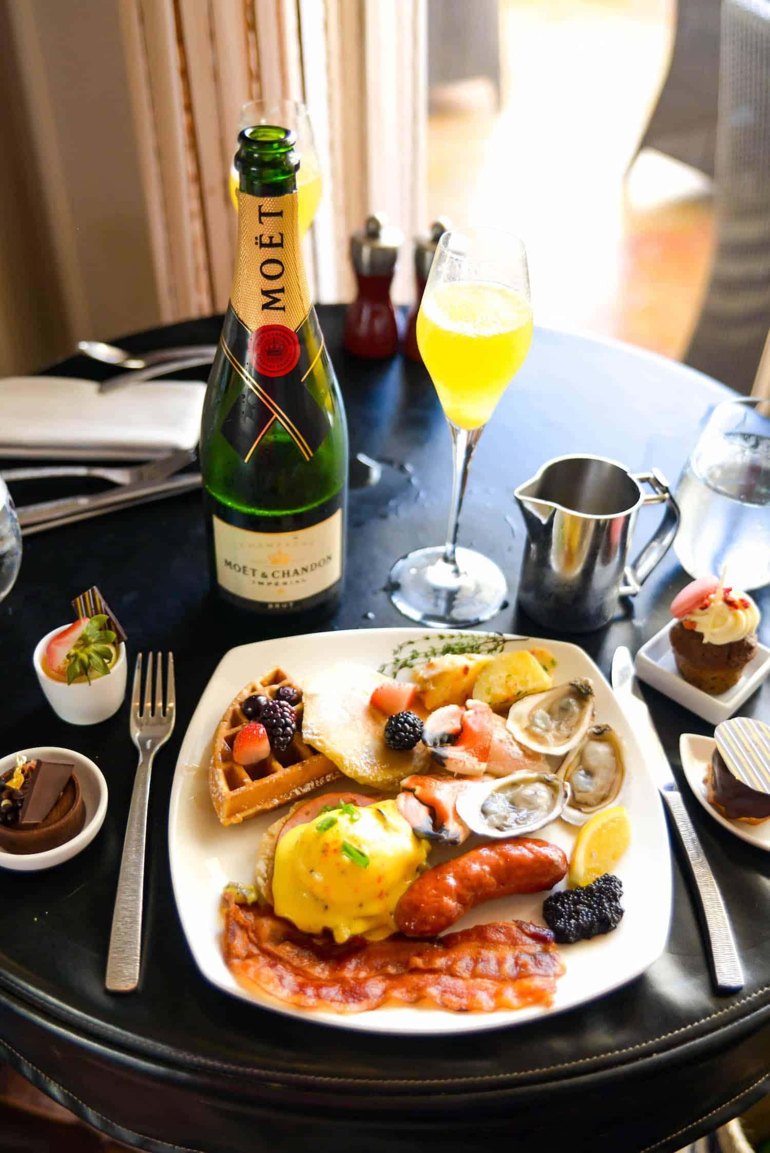 Ritz-Carlton Grand Cayman Champagne Brunch