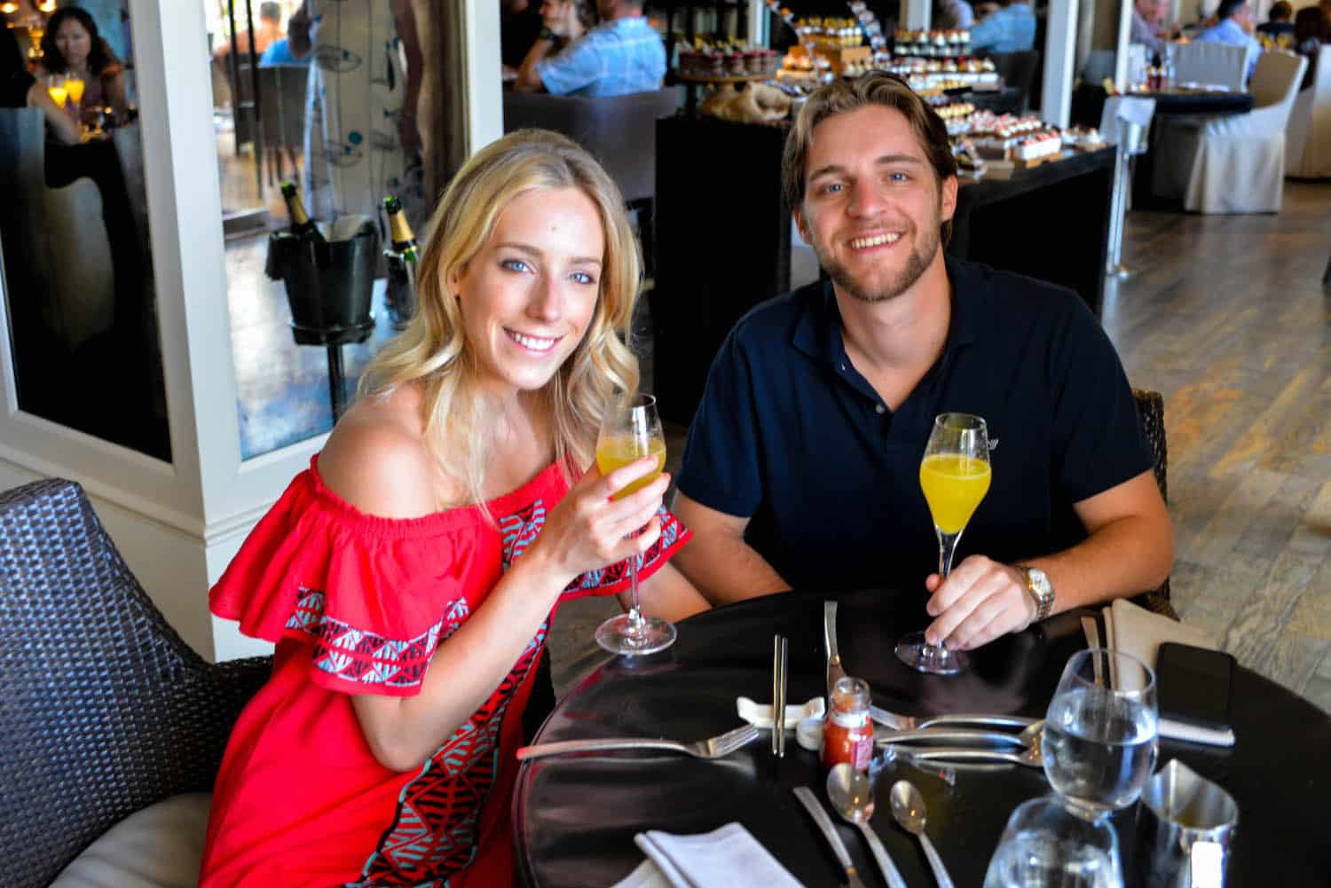 Ritz-Carlton Grand Cayman Champagne Brunch