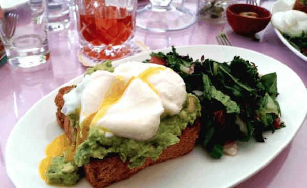 The Upsider NYC Avocado Toast