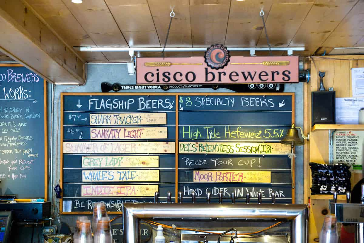 Cisco Brewery Nantucket