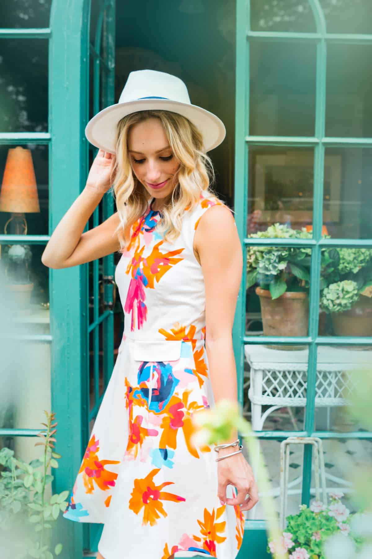 Draper James Citrus Lilly Dress