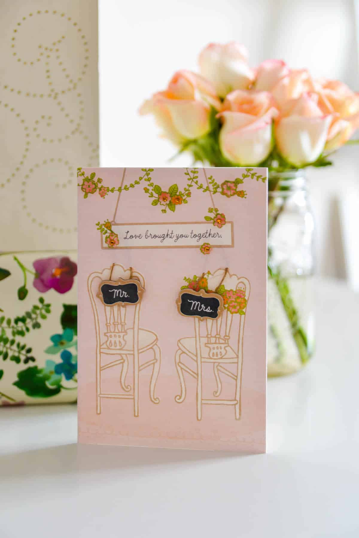 Hallmark Signature Wedding Card
