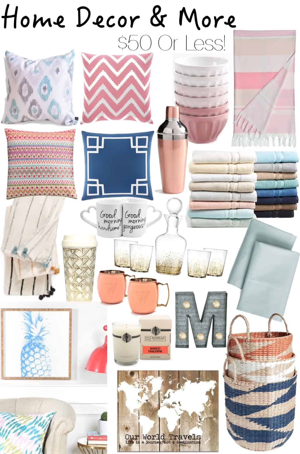 Home decor sale finds 50 or less katie 39 s bliss Nordstrom home decor sale