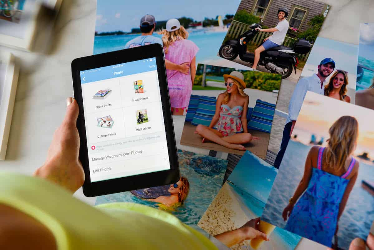 Walgreens Mobile App Photo Printing
