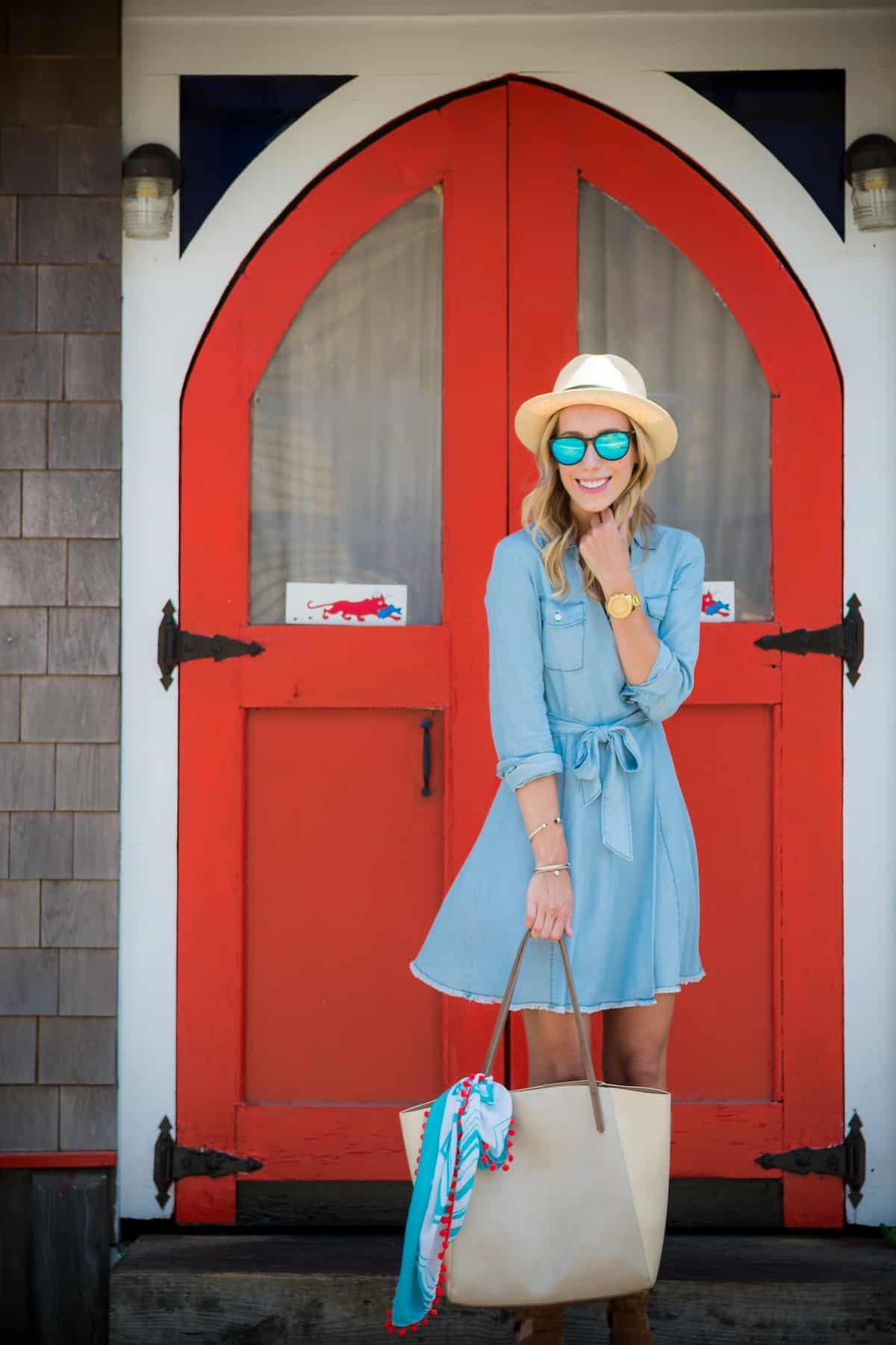 BB Dakota Chambray Dress
