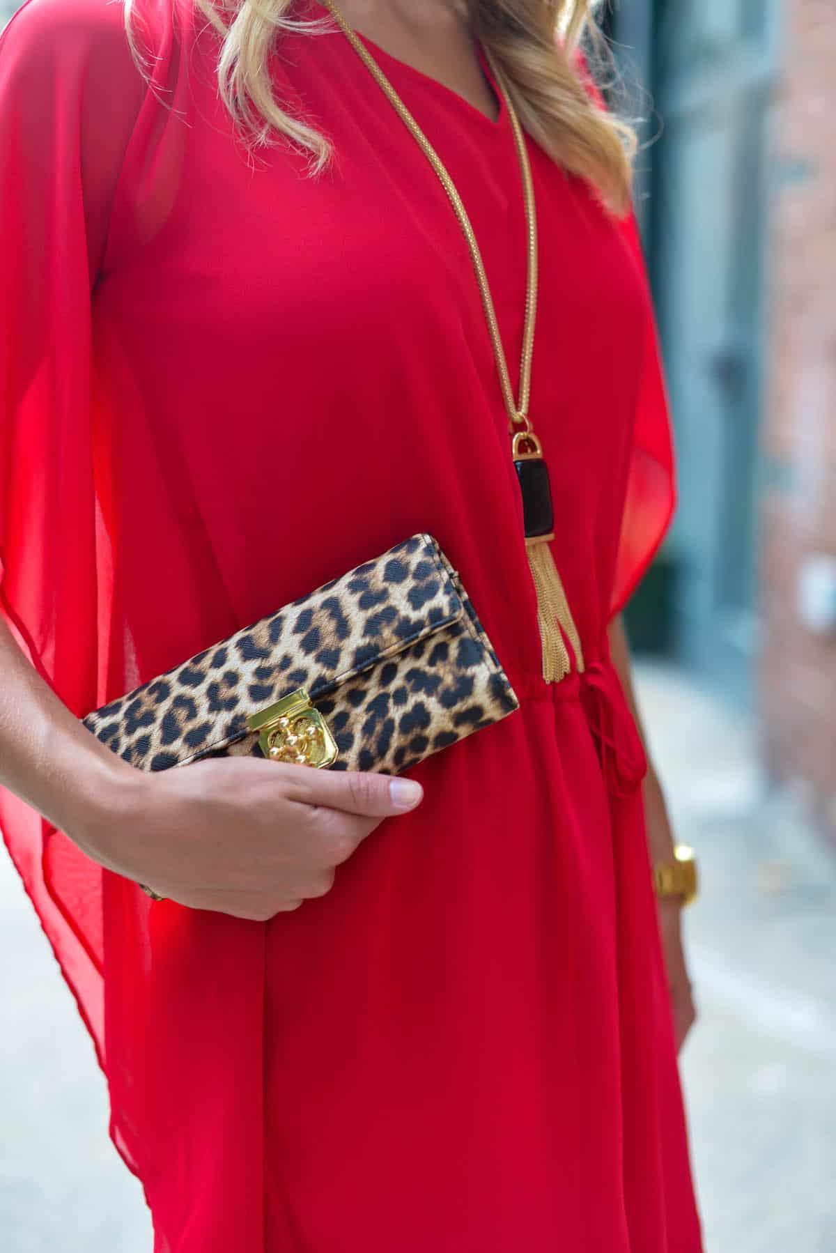 Charming Charlie Leopard Wallet