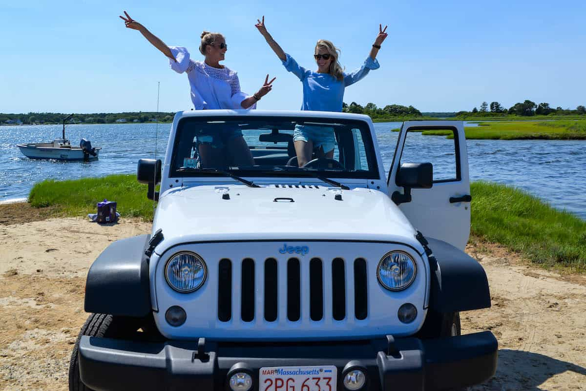 White Jeep Rental Martha's Vineyard
