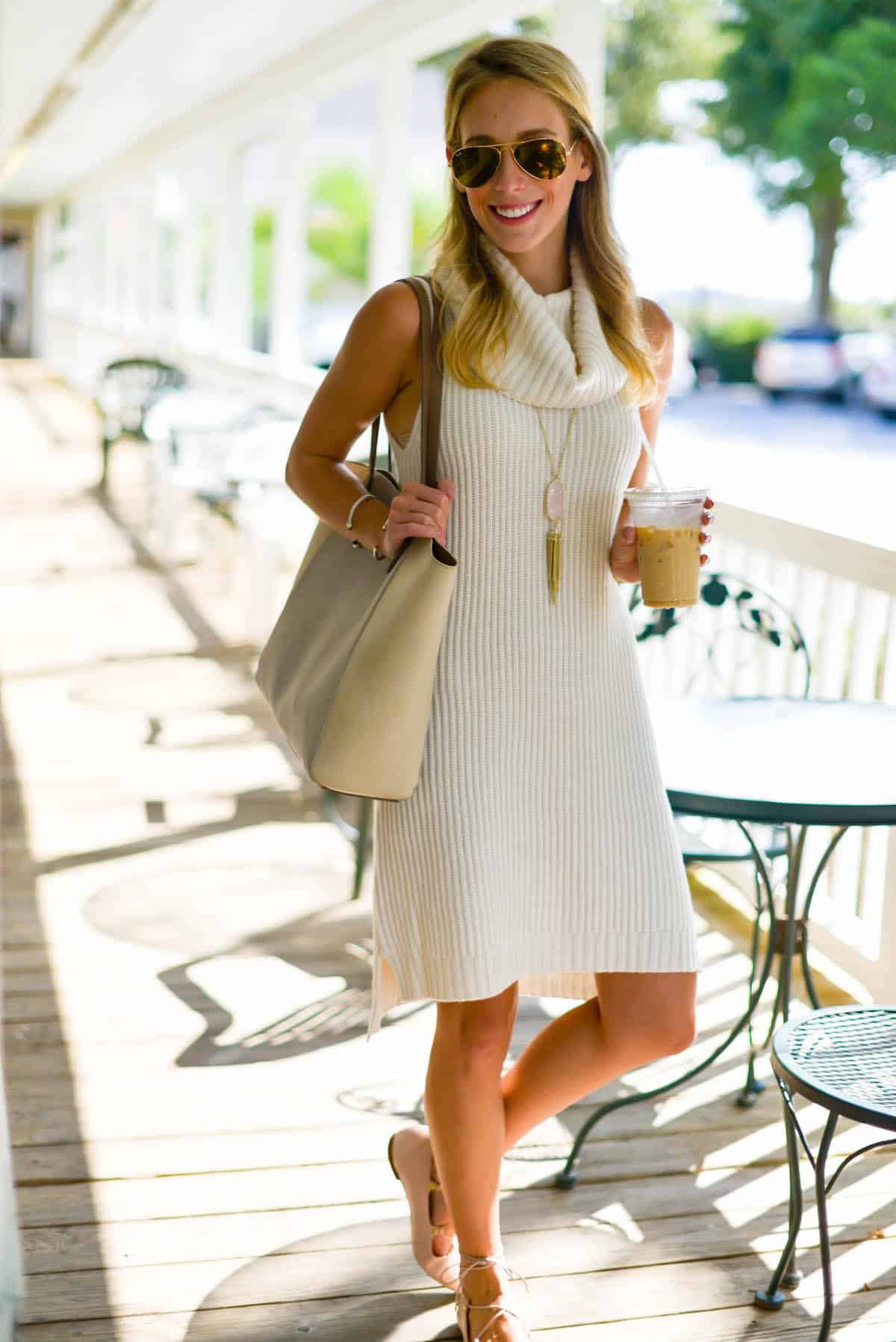 Cowl Neck Sweater Dress | Katie's Bliss