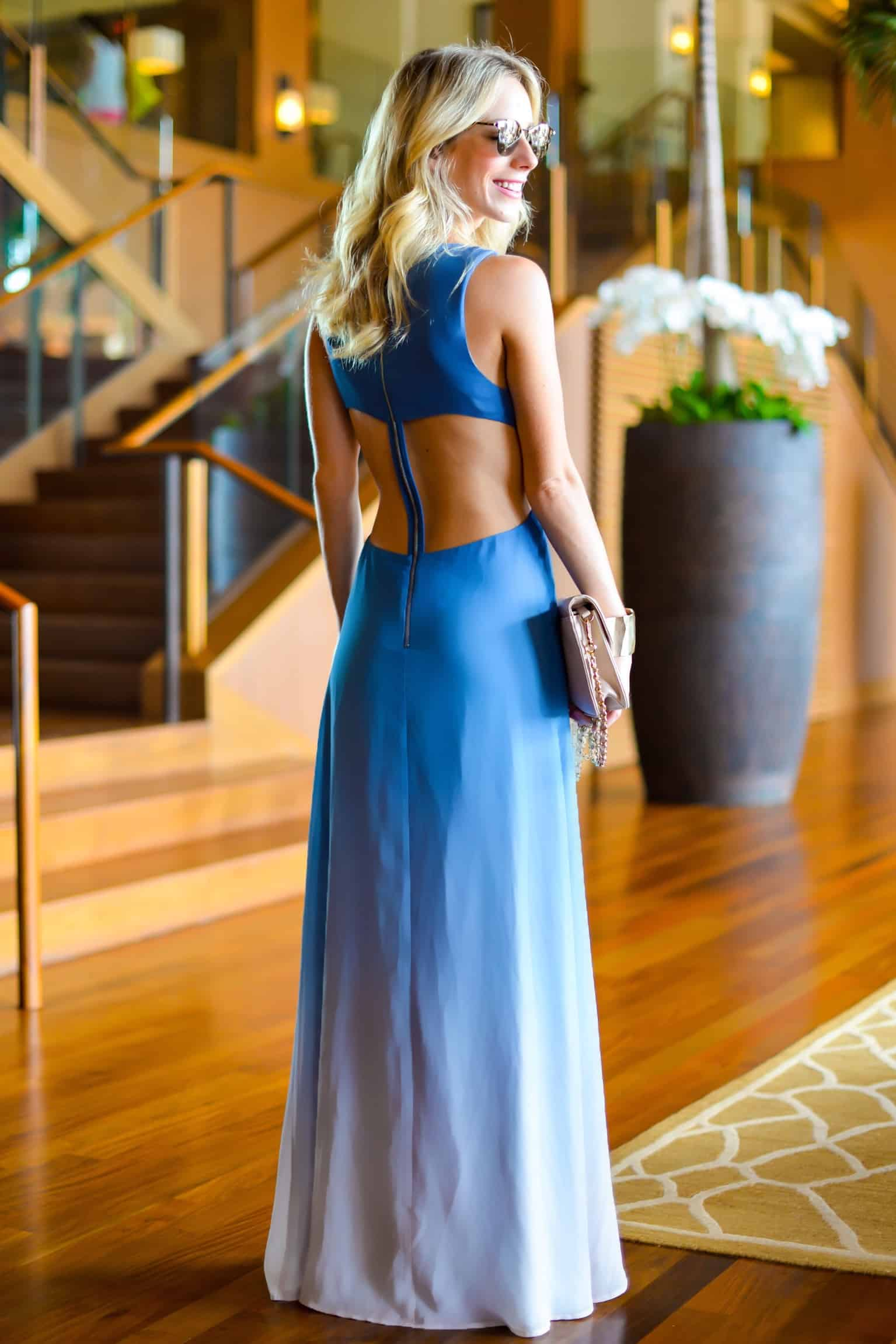 The Jetset Diaries Ombre Maxi Dress