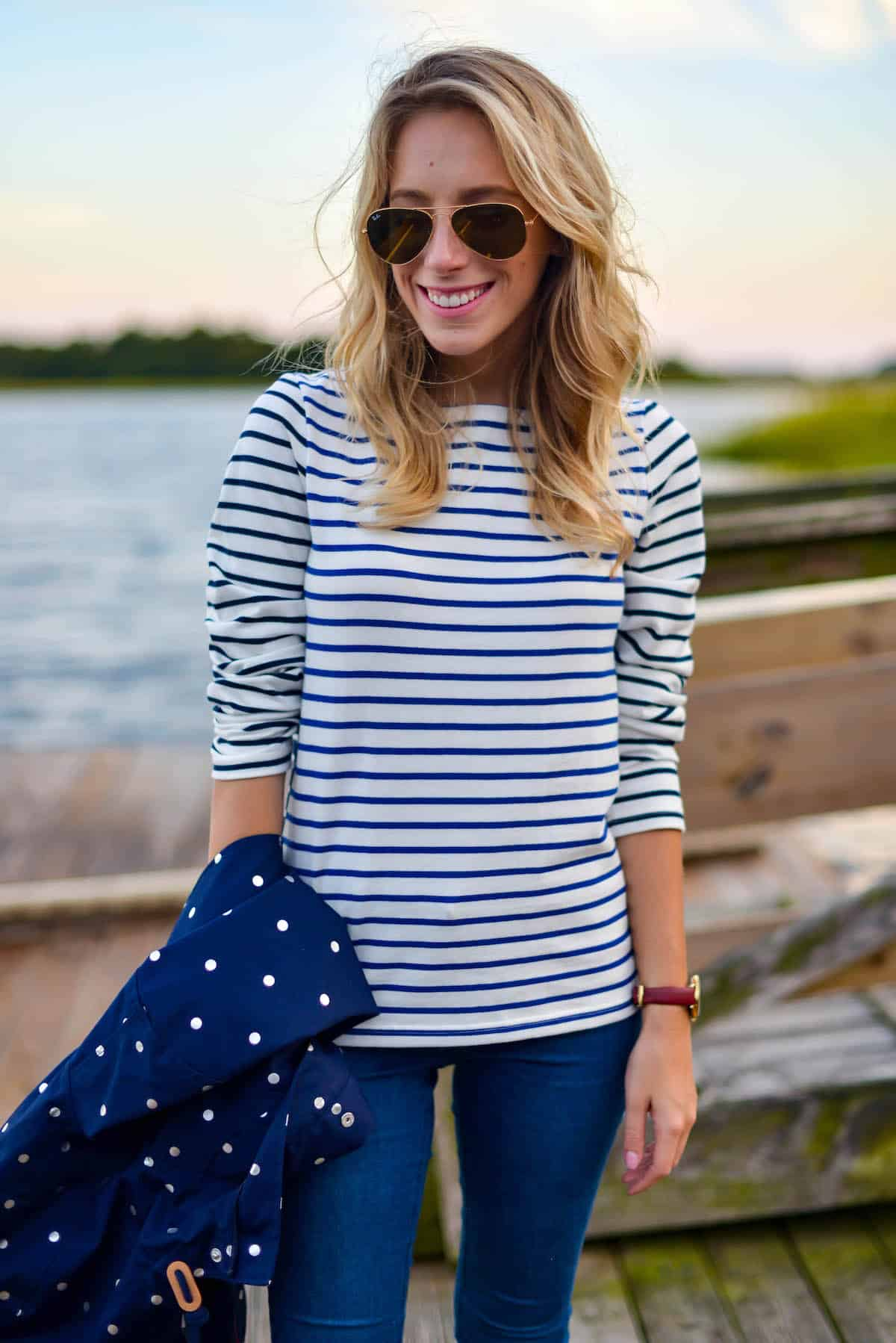Joules Stripe Top