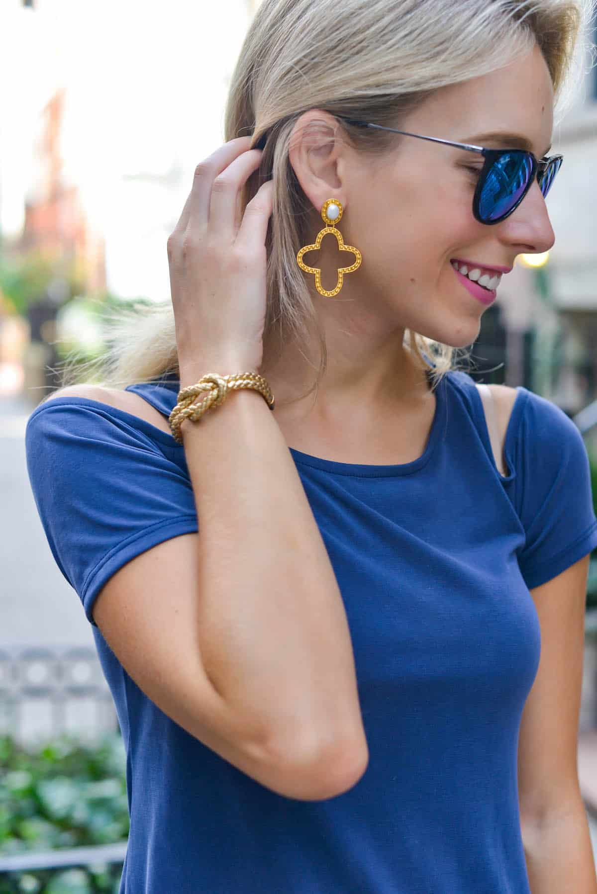 Julie Vos Siena Statement Earring