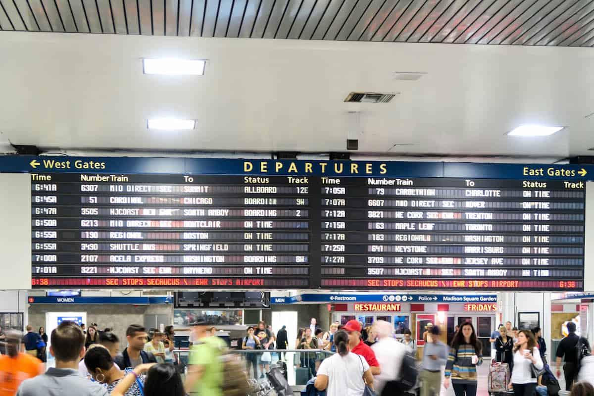 Amtrak New York Penn Station