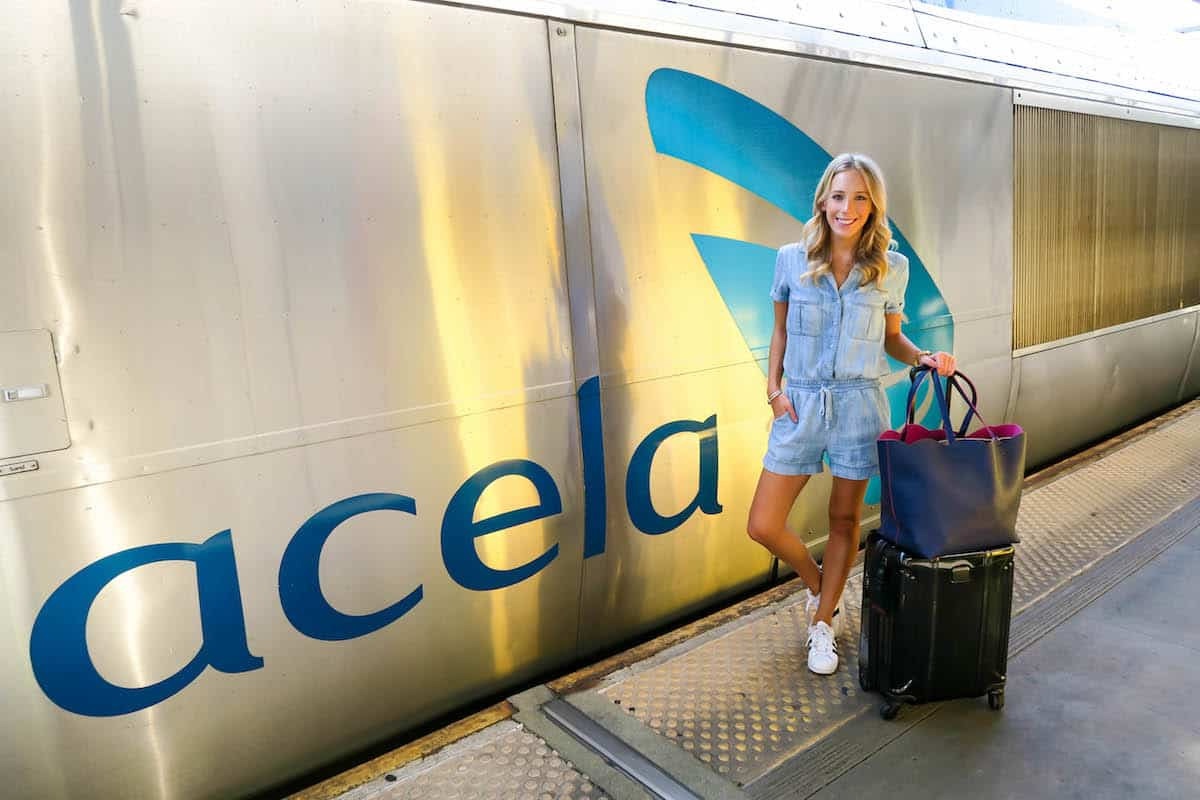 Amtrak Acela Train First Class