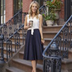 Maison Jules Chambray Skirt