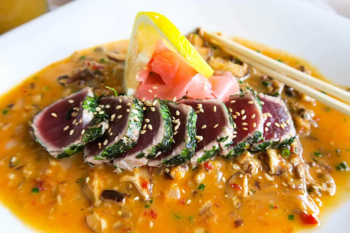 Tuna Sashimi Mala Ocean Tavern