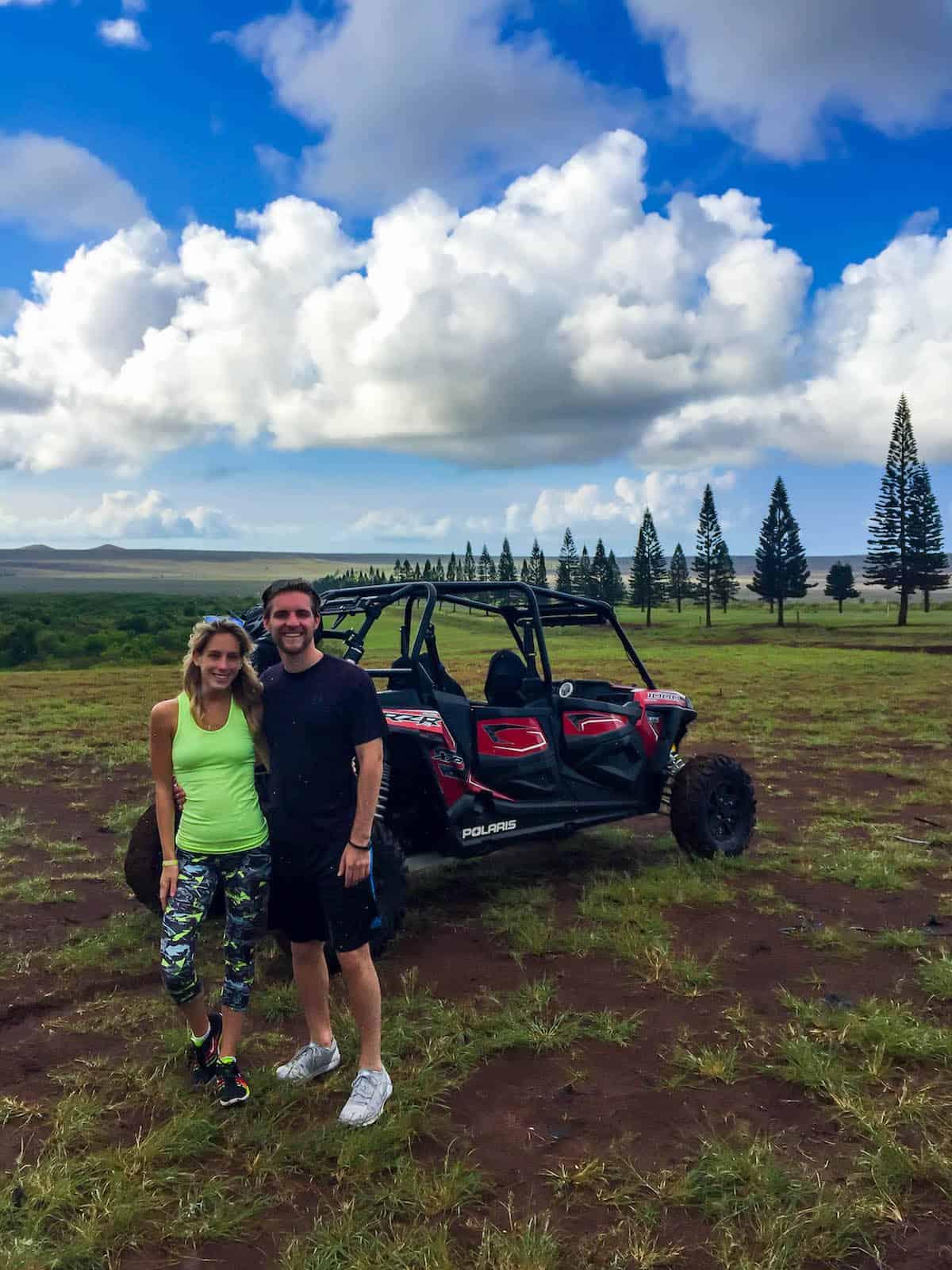 UTV Tour Lanai Island Hawaii