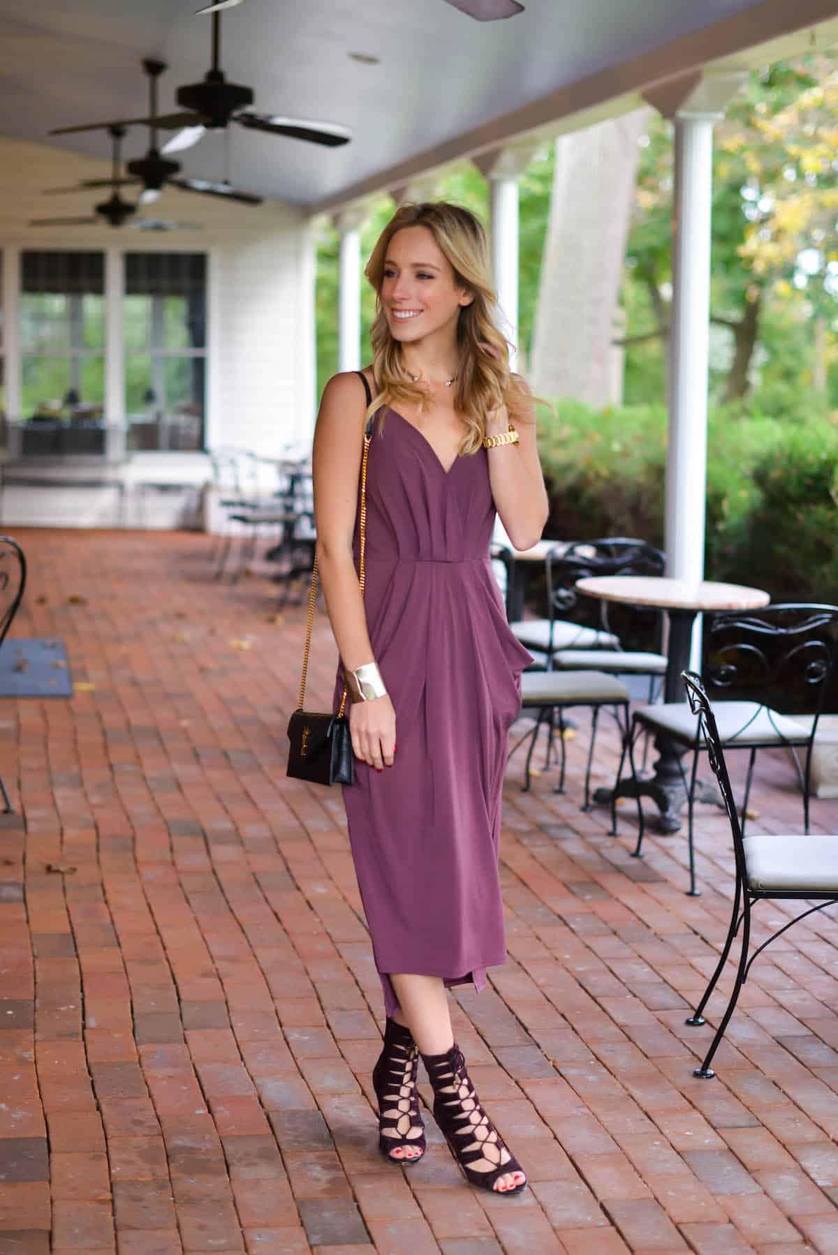 BCBGeneration Faux Wrap Dress