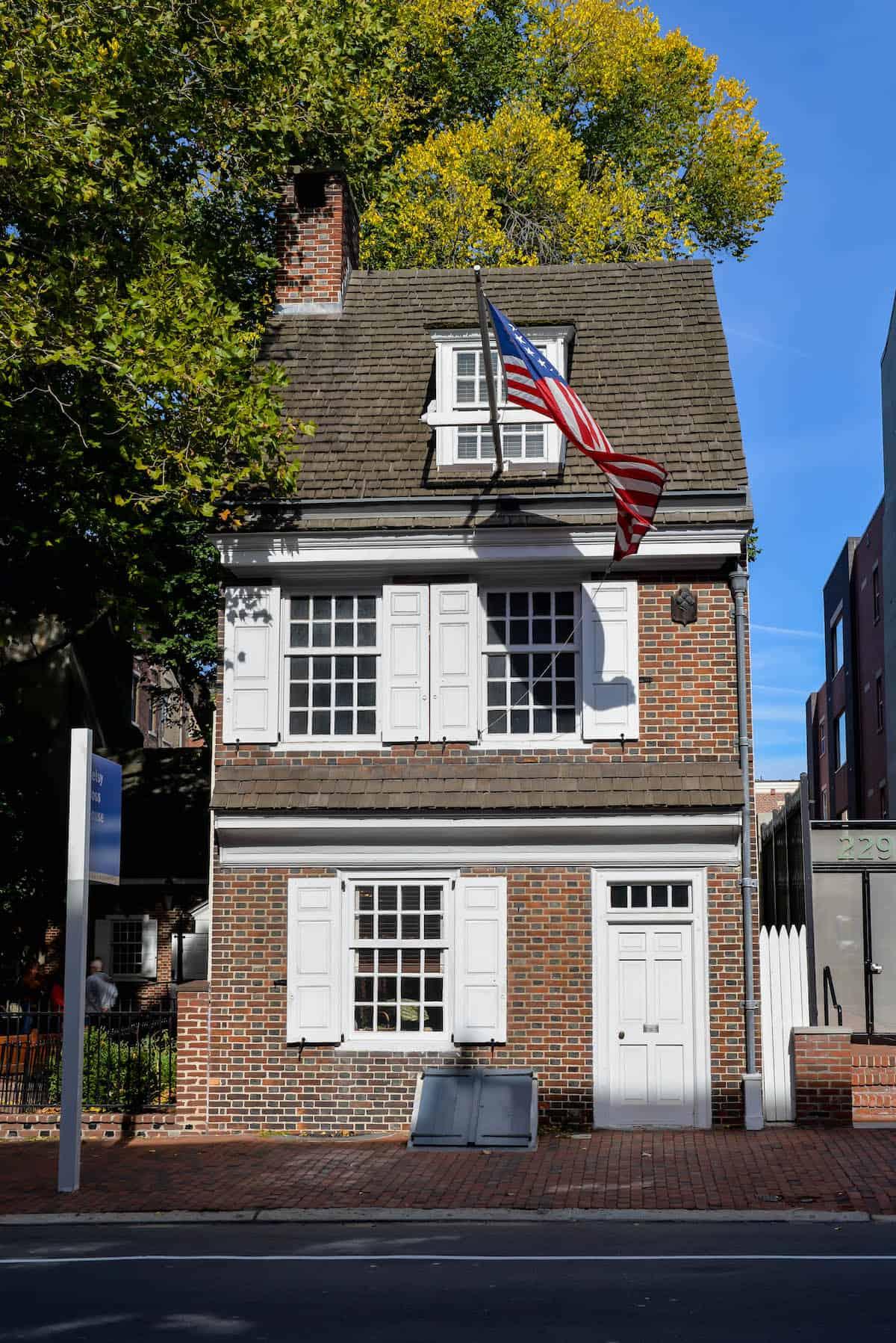 Betsey Ross House Philadephia