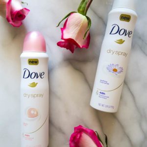 Dove Dry Spray Antiperspirant