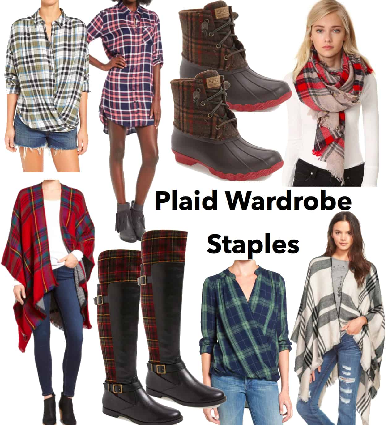 Plaid Wardrobe Staples