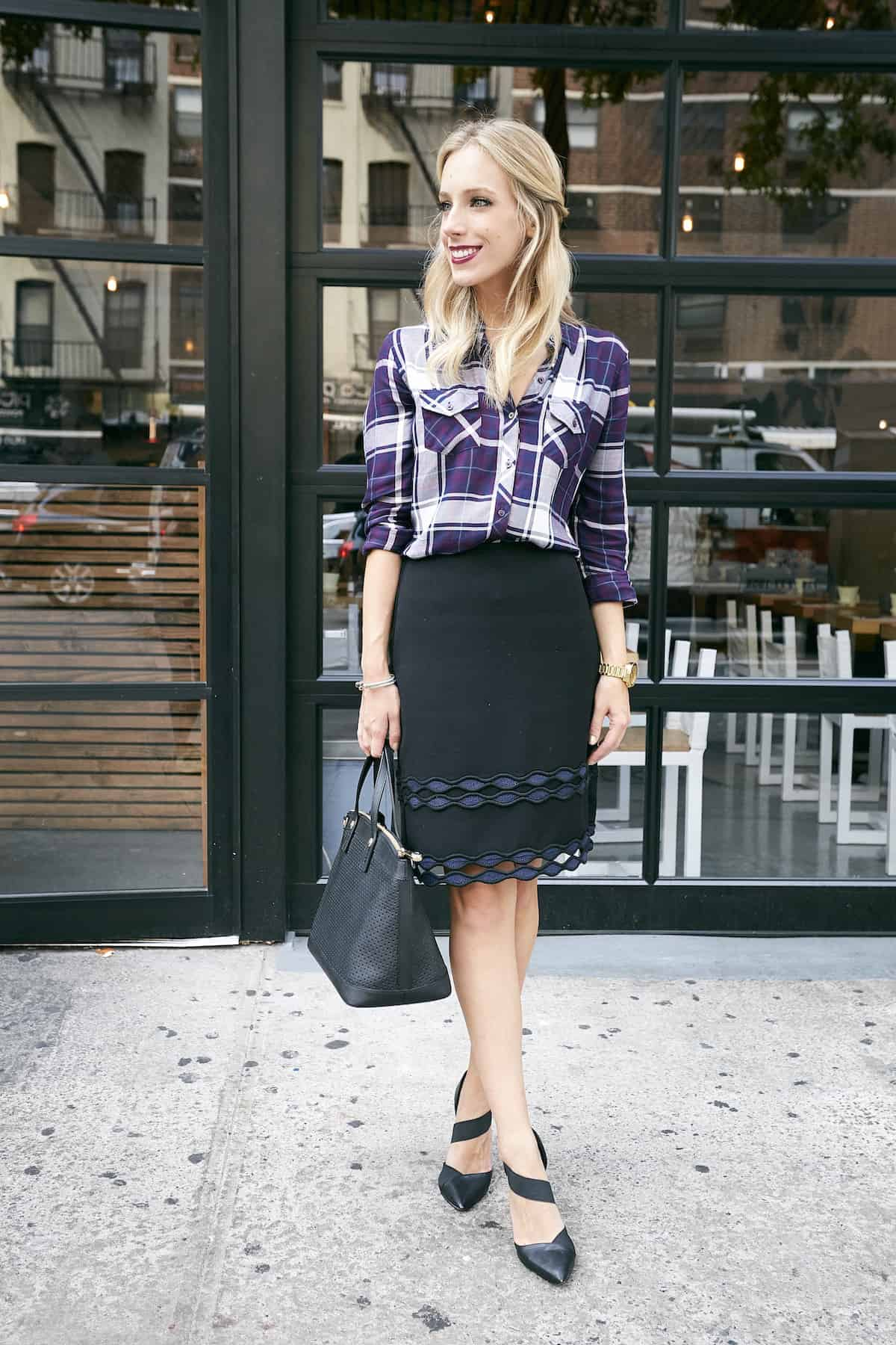 Three Ways To Wear A Plaid Shirt