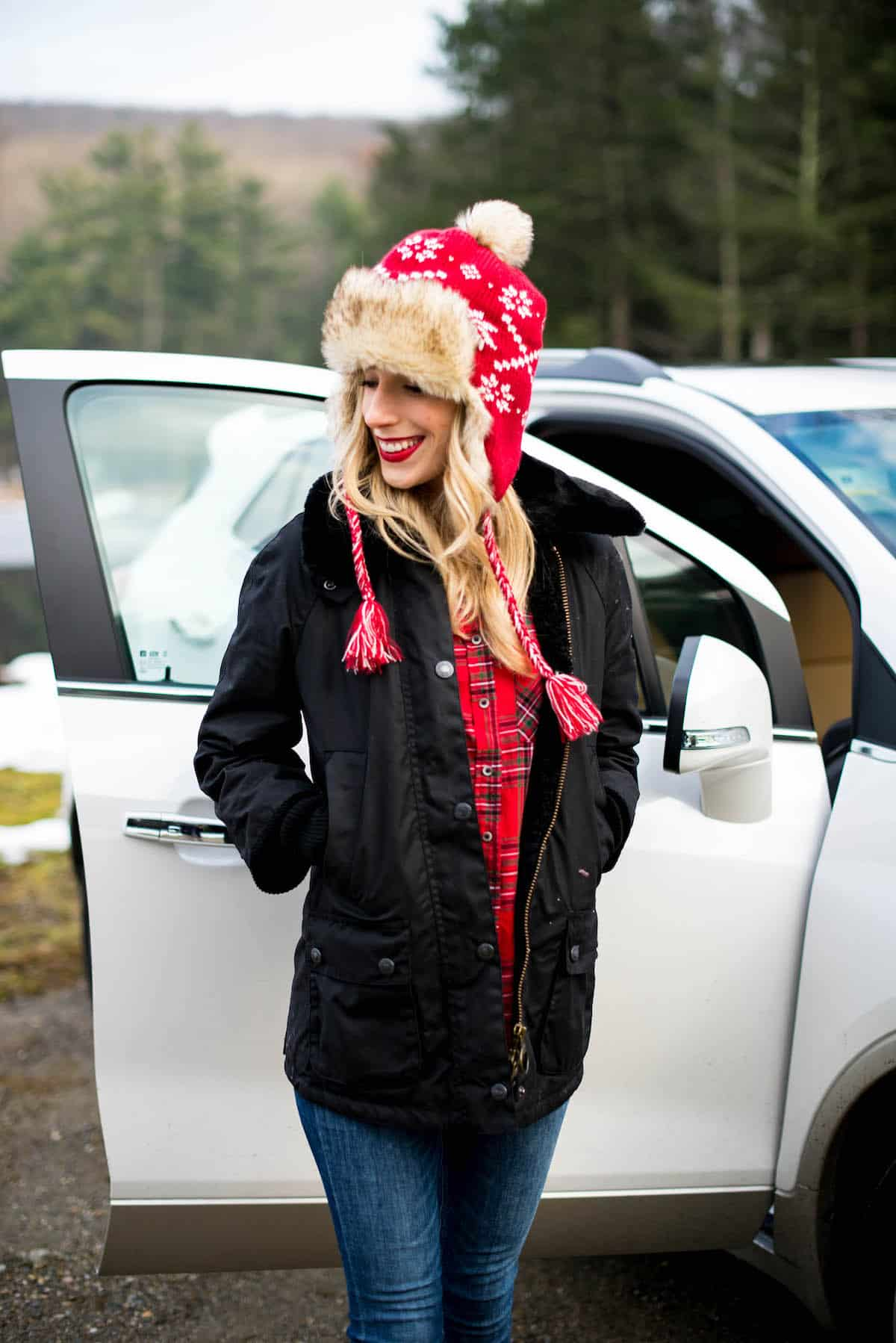 Barbour Snow Bedale Coat