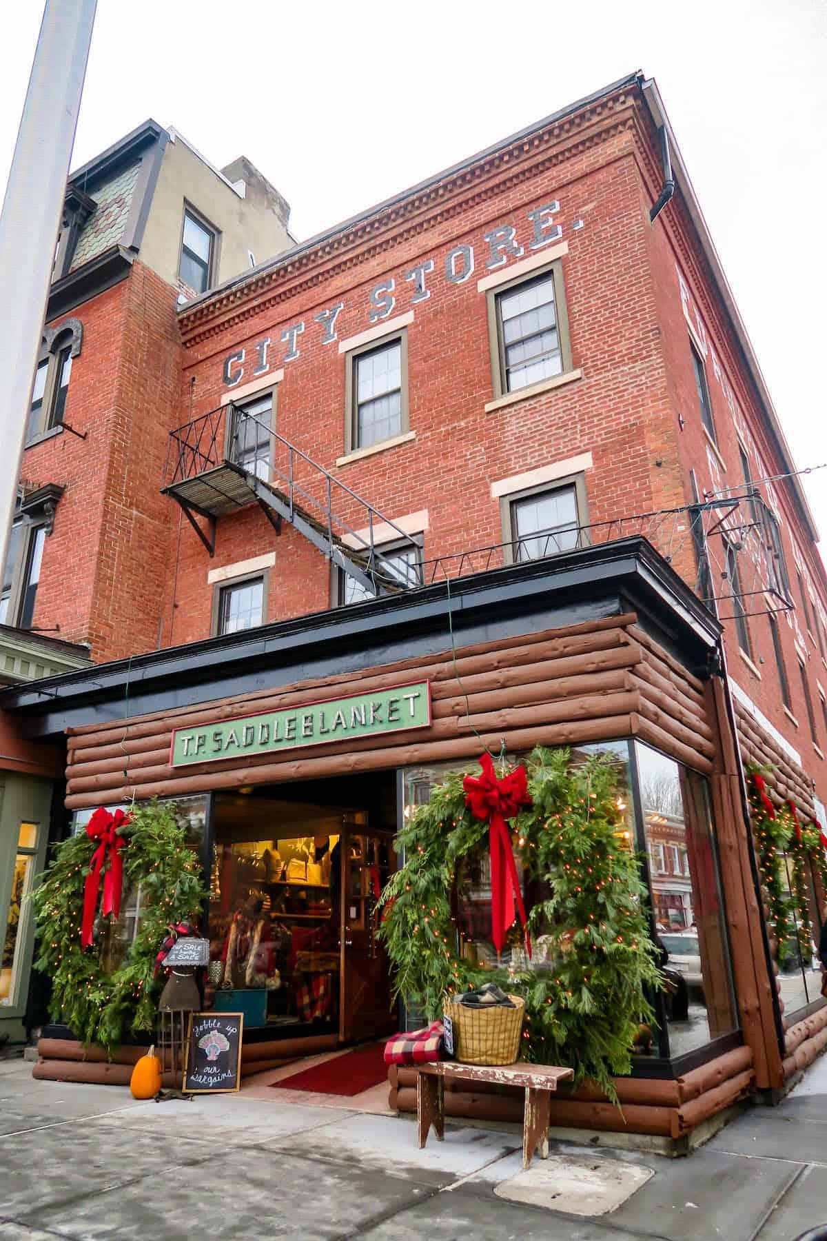 Great Barrington Massachusetts at Christmas