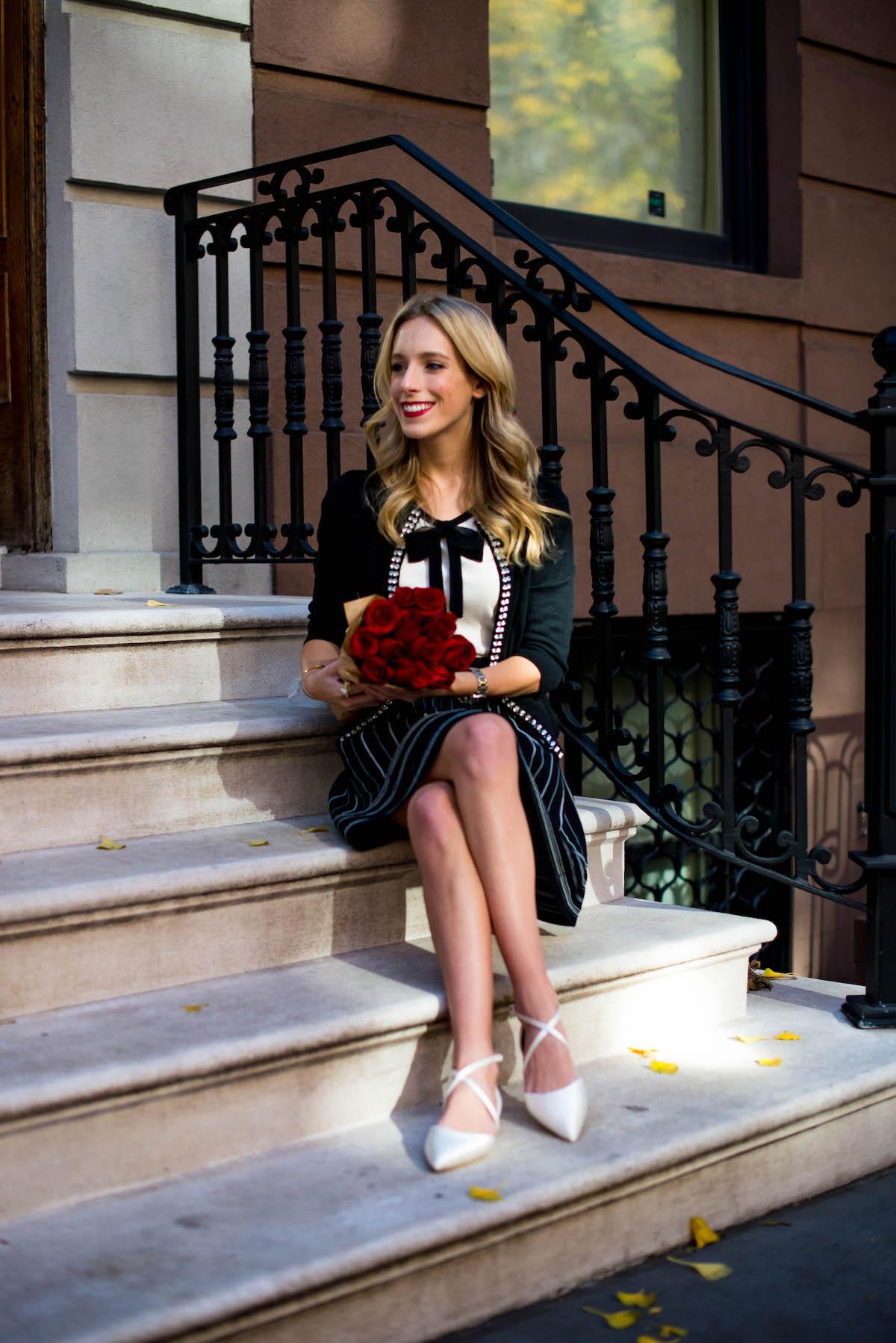 Kate Spade Black Skater Skirt