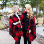 Madewell Buffalo Check Plaid Wrap