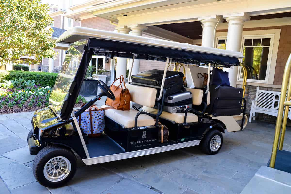 Ritz-Carlton Lake Oconee Golf Cart