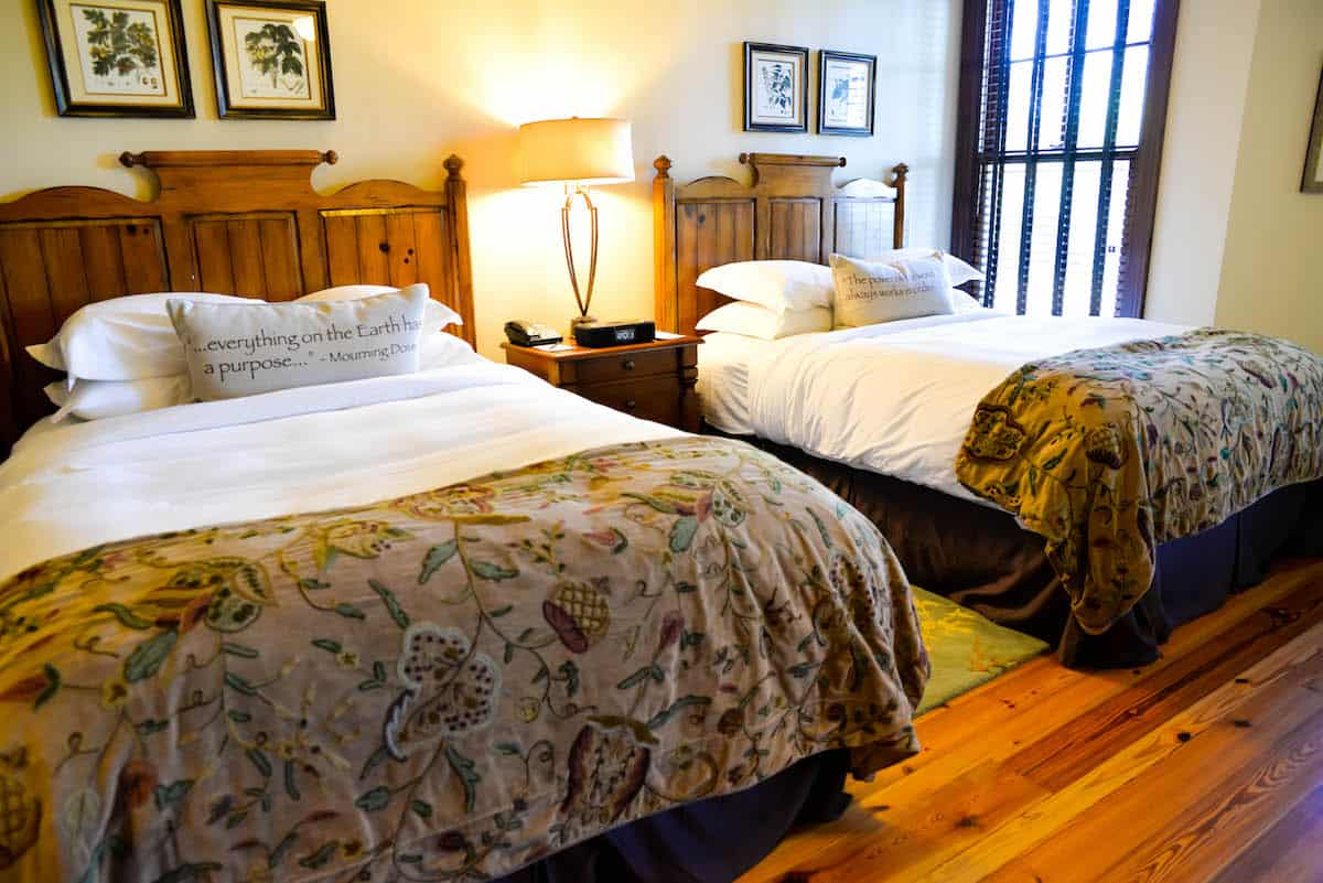 Ritz Carlton Lake Oconee Cabin