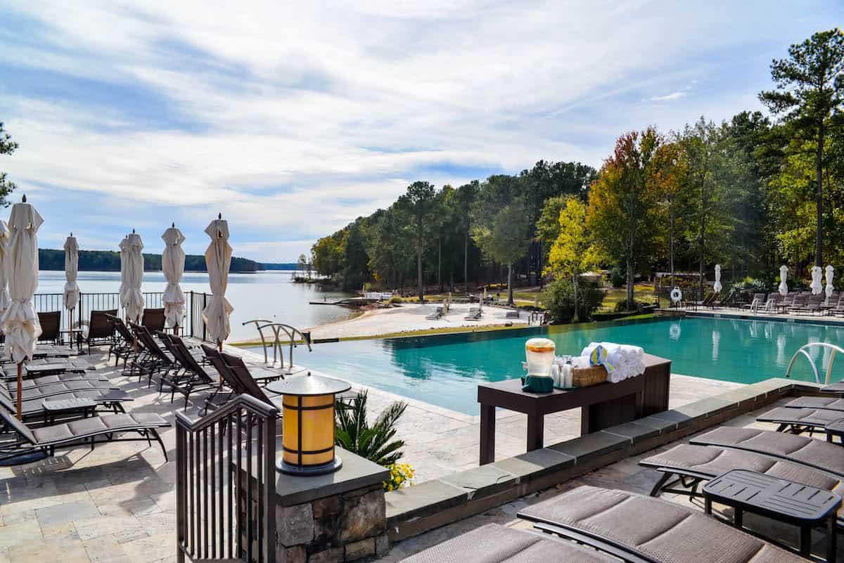 Ritz Carlton Lake Oconee Infinity Pool