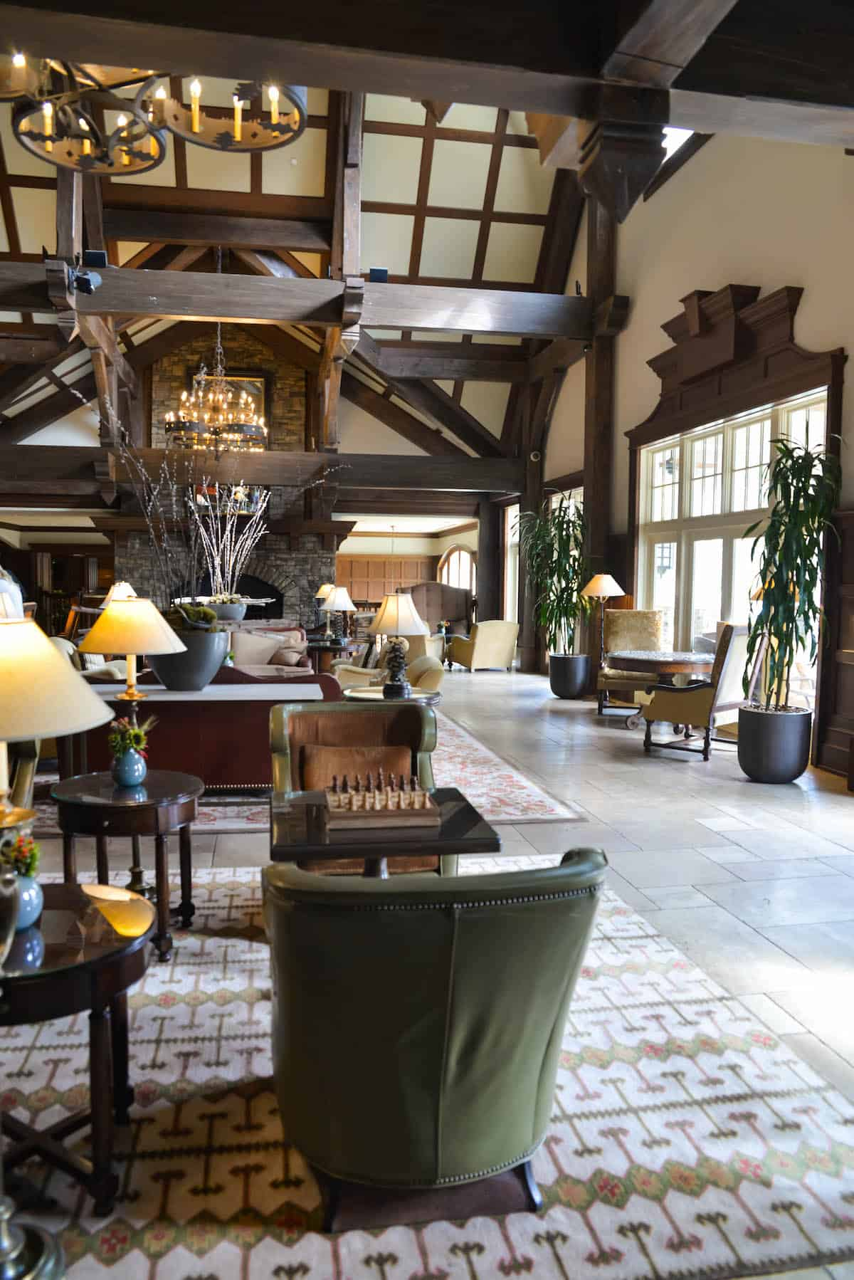 Ritz Carlton Lake Oconee Resort Lobby