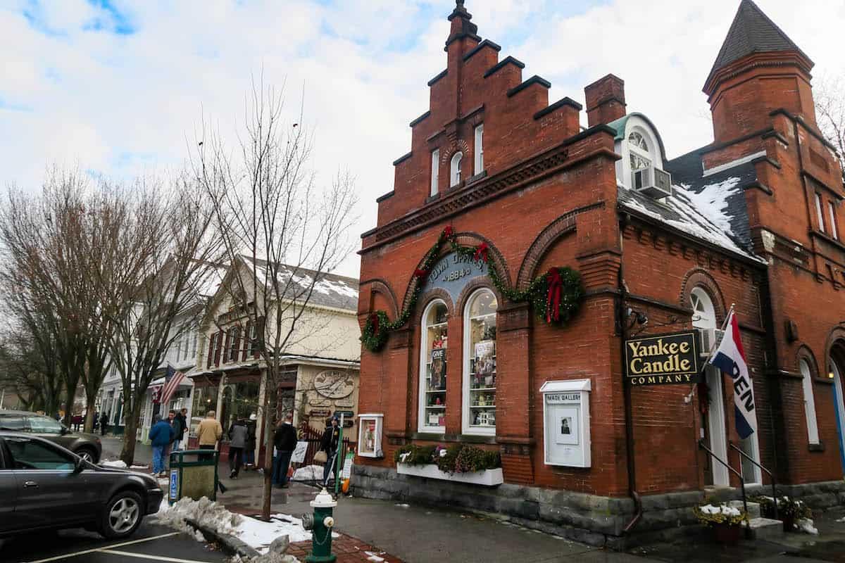 Stockton Massachusetts at Christmas