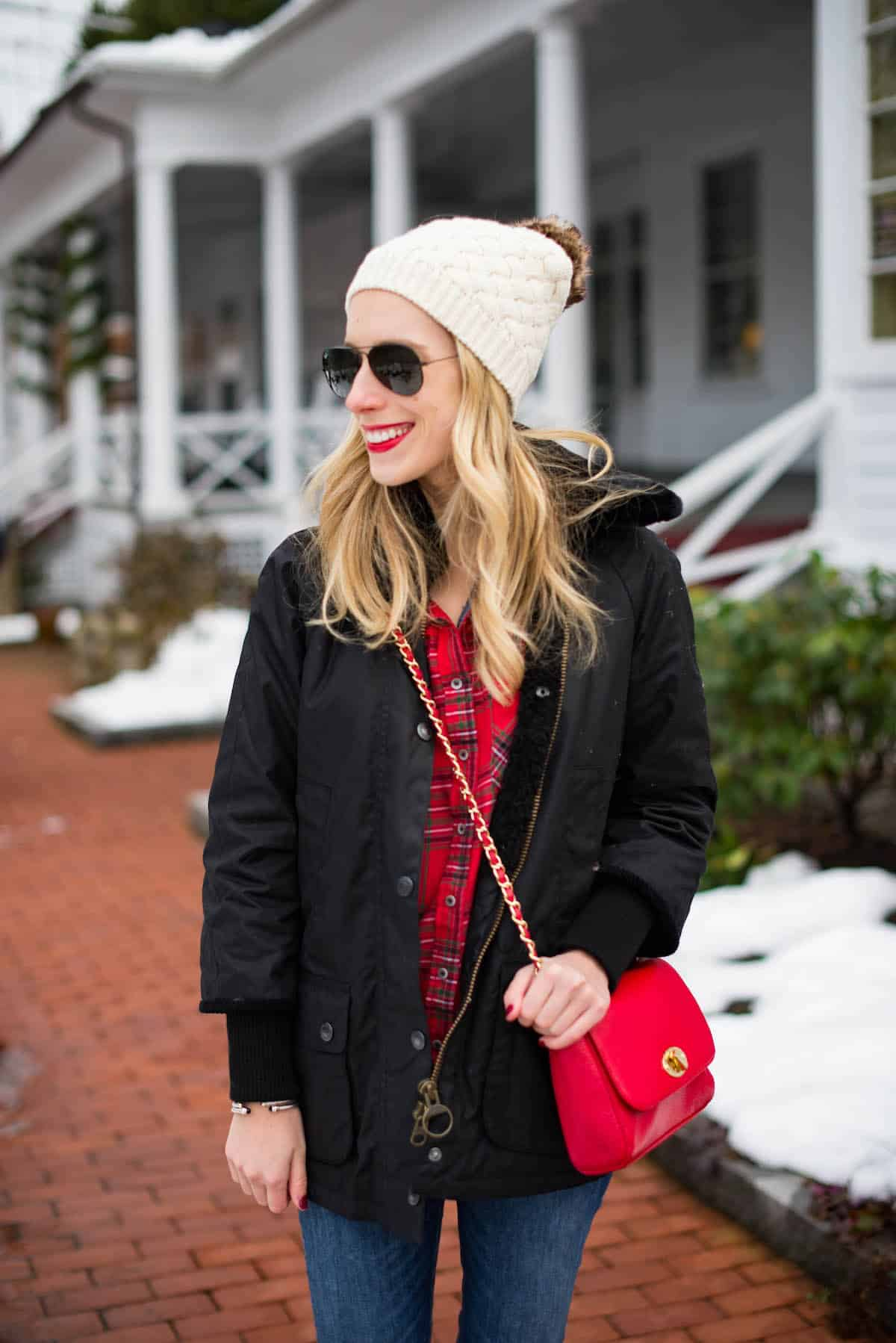 Preppy Winter Outfit