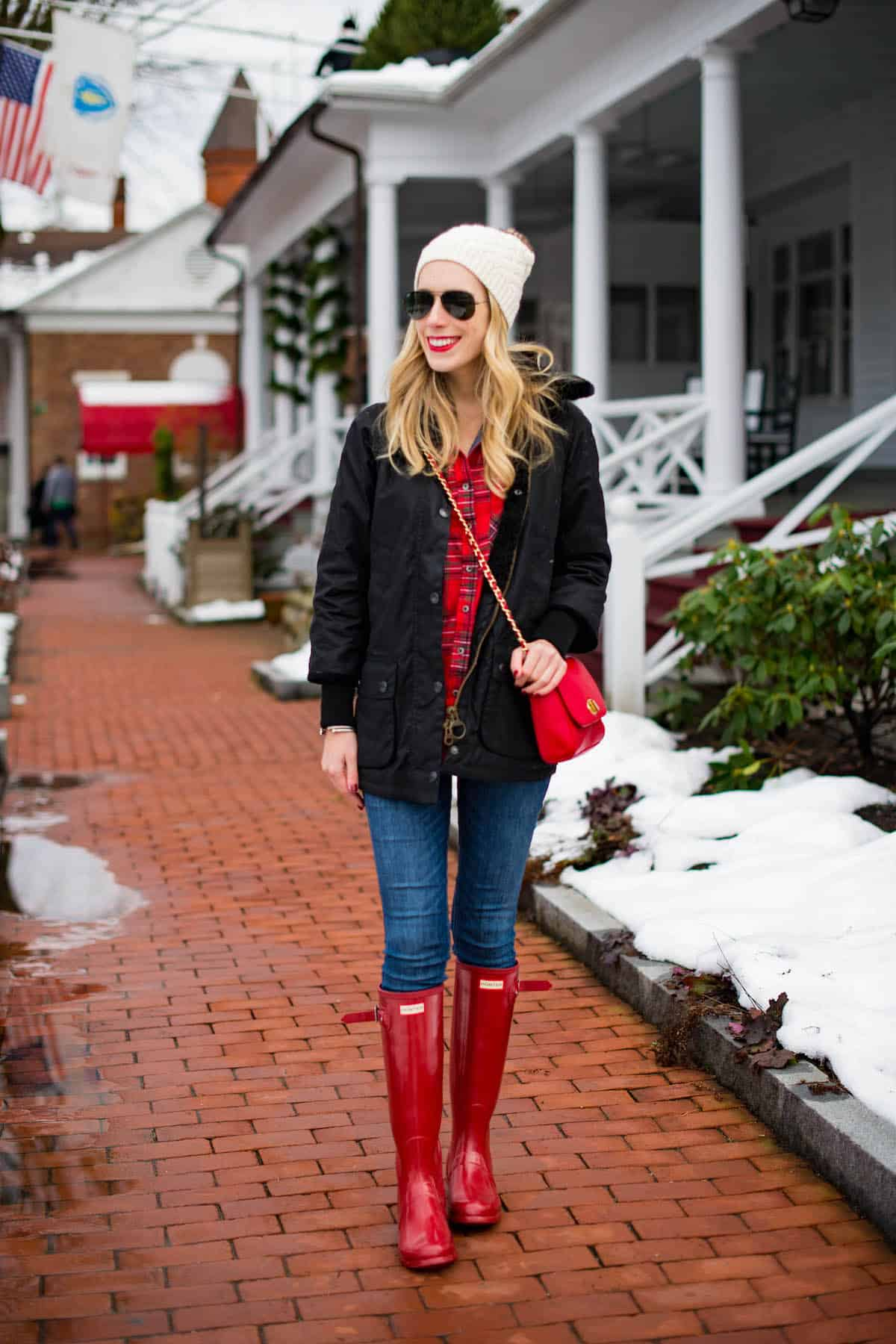 tall-red-hunter-boots