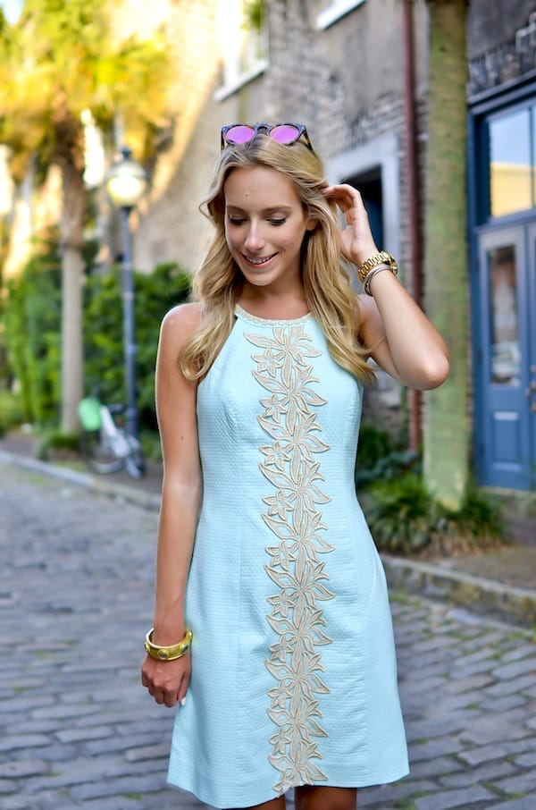 Lilly Pulitzer Pearl Lace Shift Dress