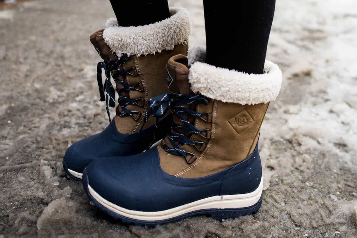 Muck Boots Lace Up Snow Boots