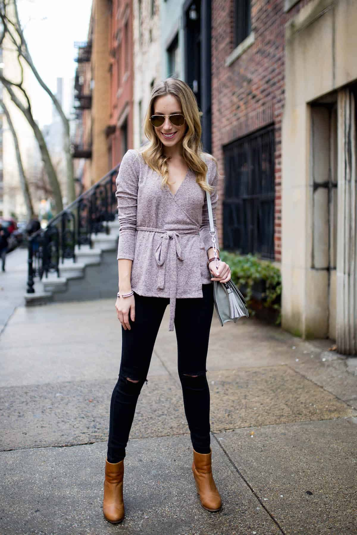 Tied Knit Sweater