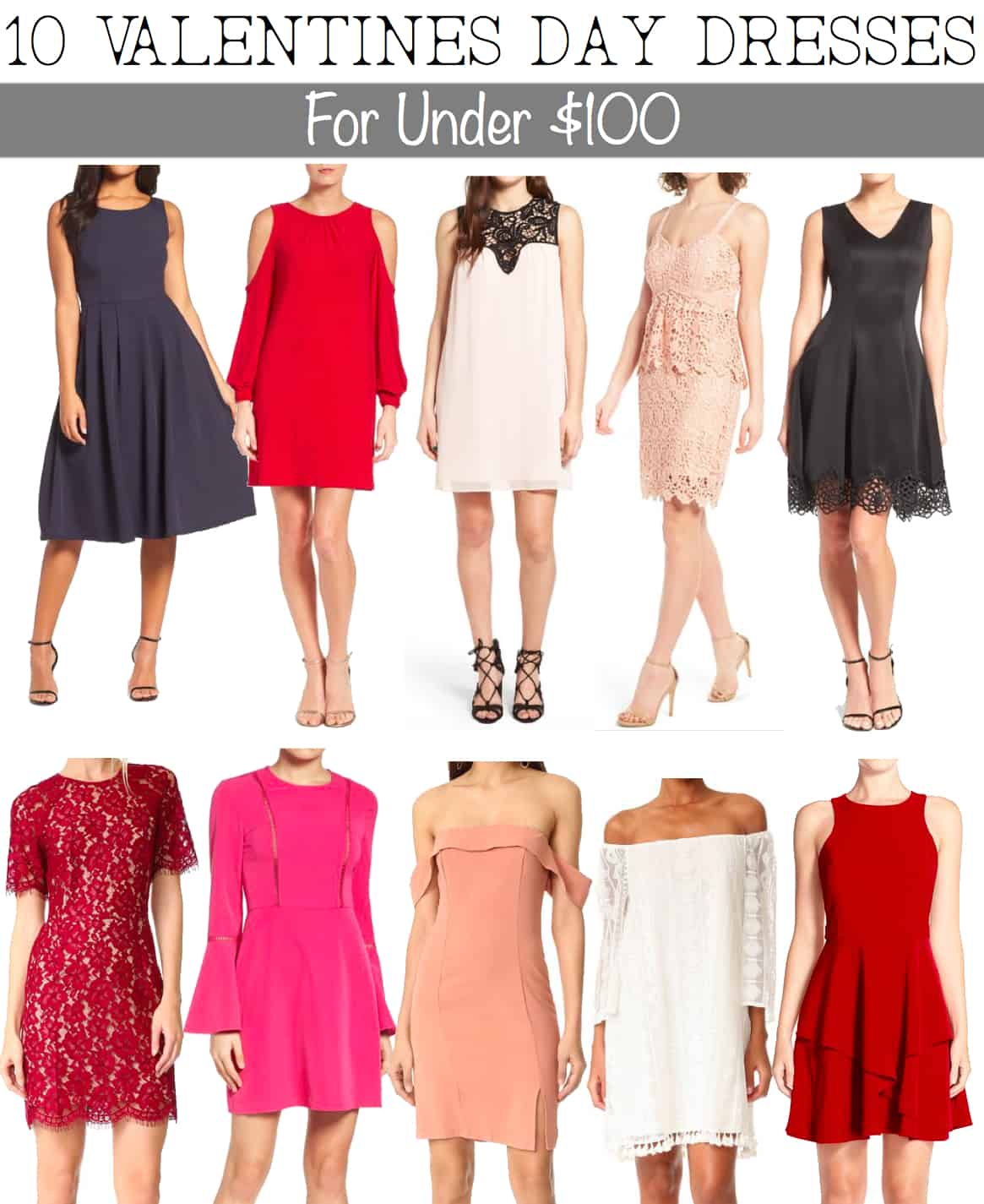 Affordable Valentine S Day Outfit Ideas 10 Dresses Under 100