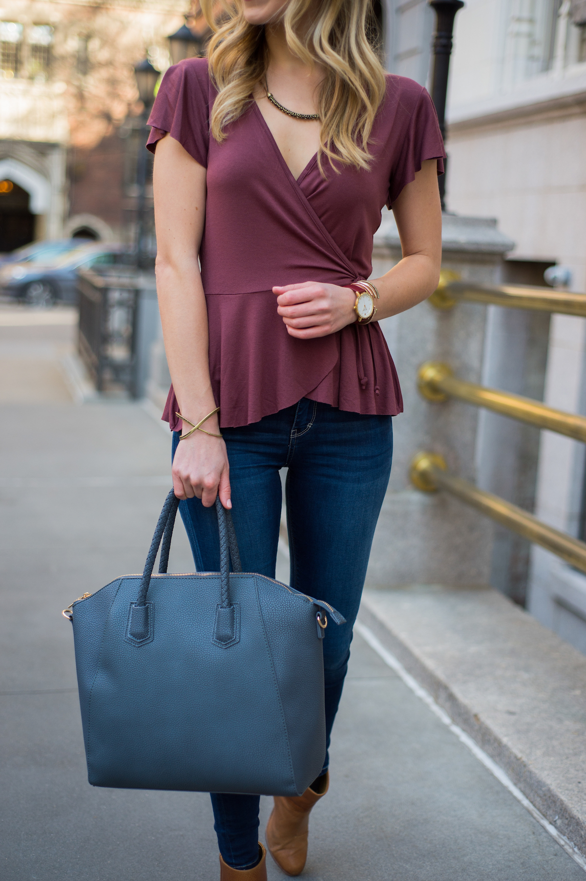 10 Wrap Tops For Spring Under $75