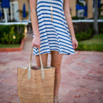 The Perfect Stripe Vacation Dress
