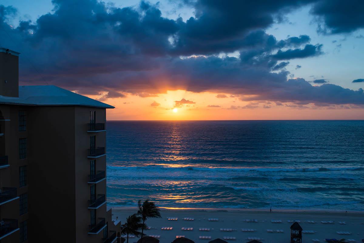 Cancun Mexico Sunrise