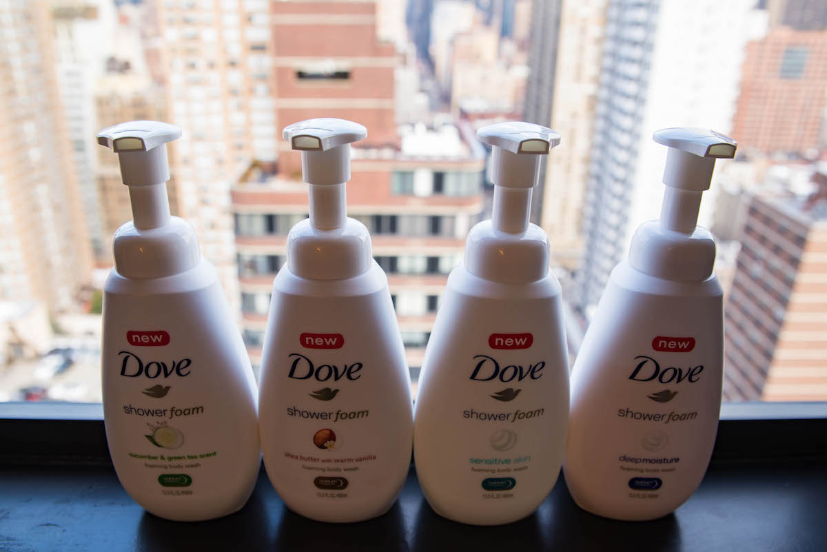 Dove Shower Foam Review
