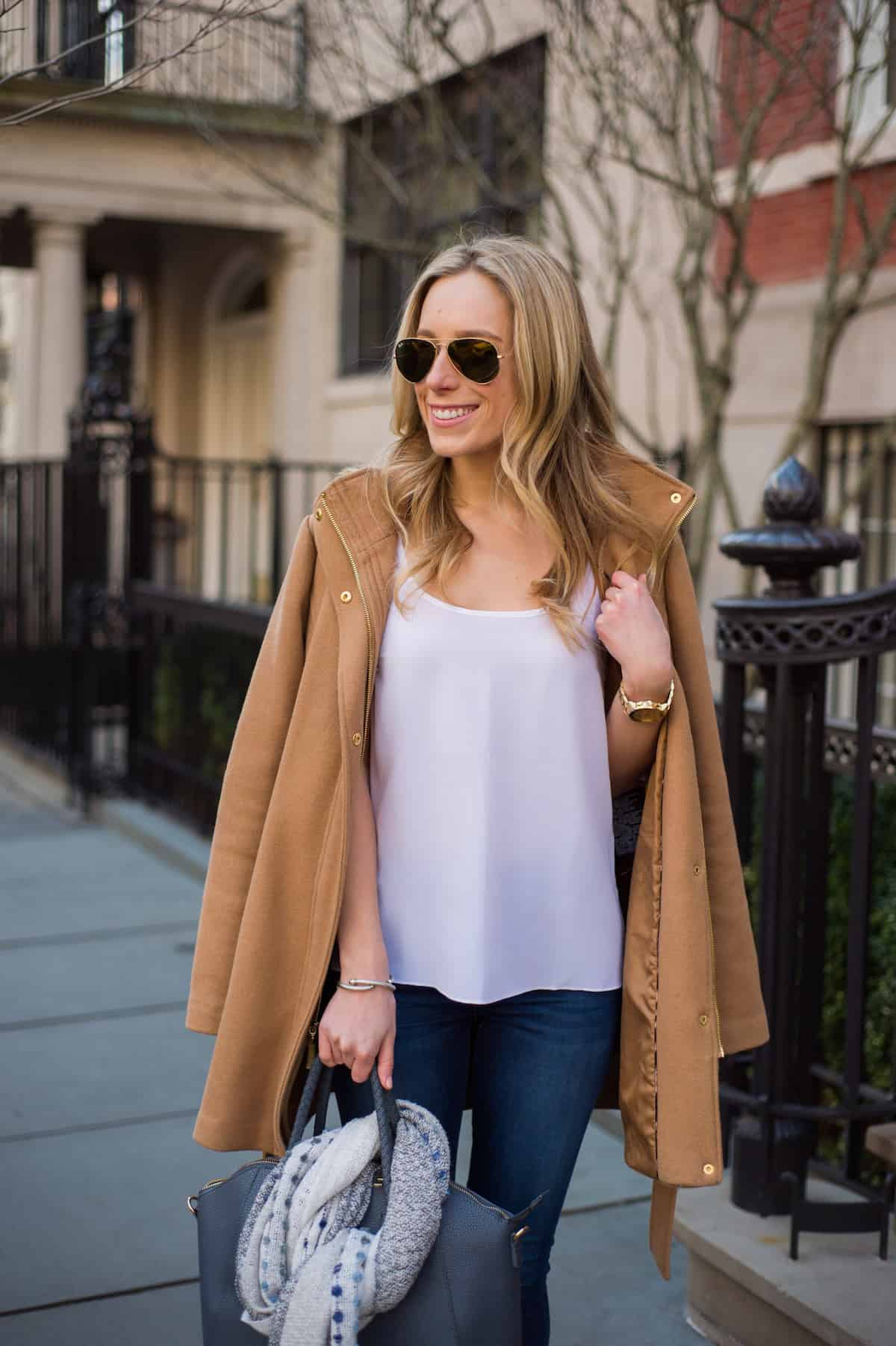 Inexpensive Camel Coat