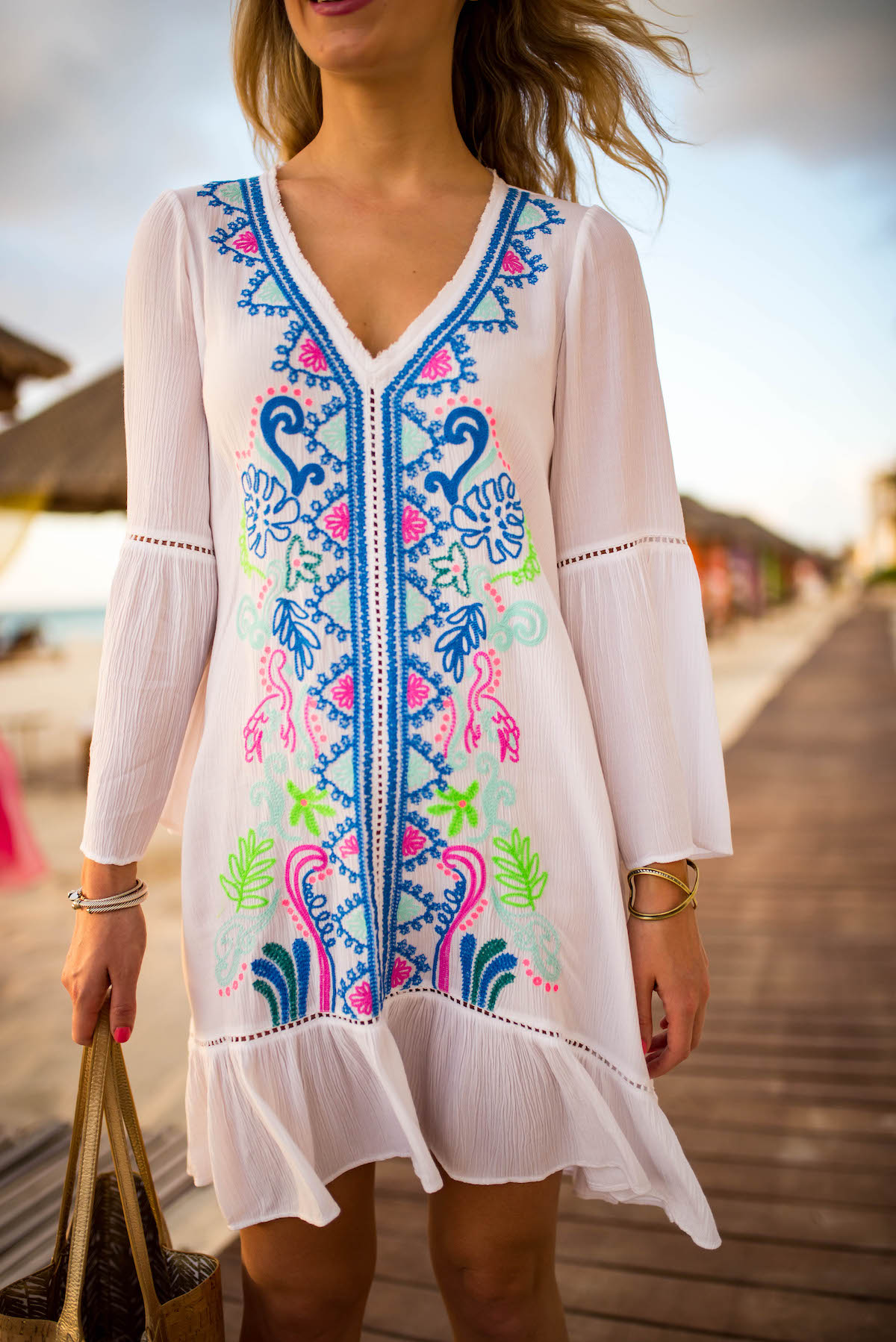 Lilly Pulitzer Embroidered Cover Up