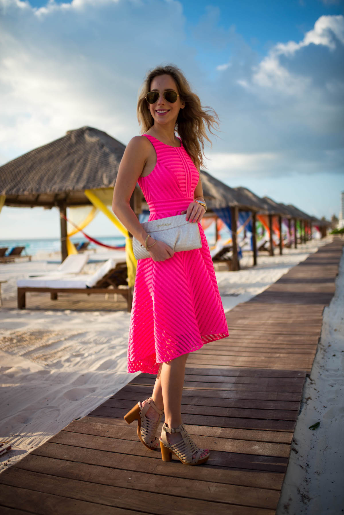 Lilly Pulitzer Tilly Midi Fit Flare Dress