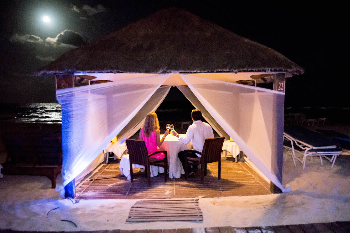 Romantic Beach Cabana